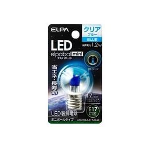 ELPA LDG1CB-G-E17-G248 LED電球G30E17 青色