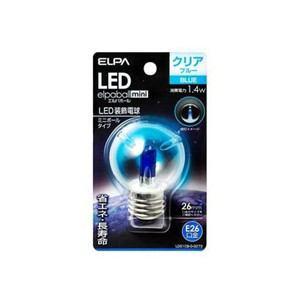 ELPA LDG1CB-G-G273 LED電球G50E26 青色