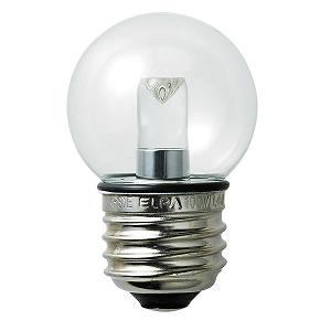 ELPA LED電球 ミニボール球G40形 クリア電球色 LDG1CL-G-GWP256