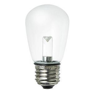 ELPA LED電球 サイン球形 クリア電球色 LDS1CL-G-GWP906