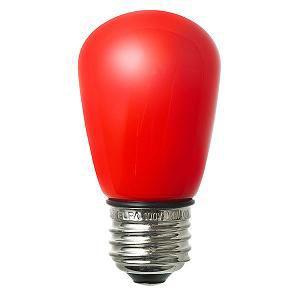 ELPA LED電球 サイン球形 赤色 LDS1R-G-GWP904