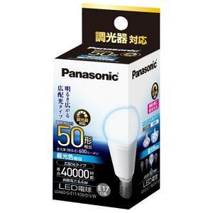 Panasonic LED電球 6.4W (昼光色相当) LDA6DGE17K50DSW