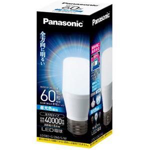 Panasonic LED電球 T形タイプ 8.4W(昼光色相当) LDT8DGZ60SW