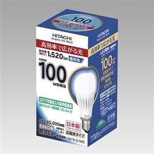 日立 LED電球 (一般電球形・E26口金・広配光タイプ) 昼光色 LDA11D-G/100C