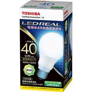 東芝 LED電球 昼白色 E26口金 一般電球型 485lm 40W形相当 LDA4N-G/40W