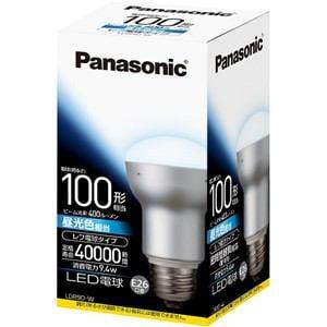 パナソニック 調光器非対応LED電球 (レフ電球形・全光束400lm/昼光色相当・口金E26) LDR9DW
