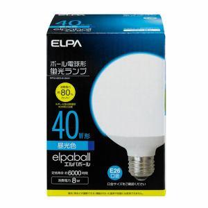 ELPA 電球形蛍光灯G形 40W形 EFG10ED/8-G041