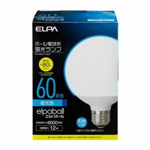 ELPA 電球形蛍光灯G形 60W形 EFG15ED/12-G061
