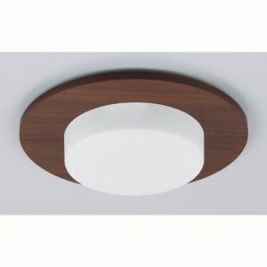 パナソニック LED電球 ダウンライト用装飾パネル付きセット(ダークウッド) LDF8LBU006T
