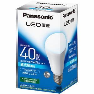 パナソニック LED電球 E26口金 40型相当 昼光色 485lm 下方向タイプ LDA4D-H/E/W