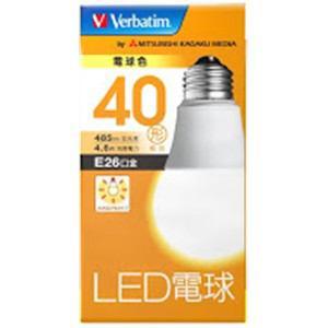 三菱ケミカルメディア LDA5LGV4 LED電球26口金 電球色 40W相当