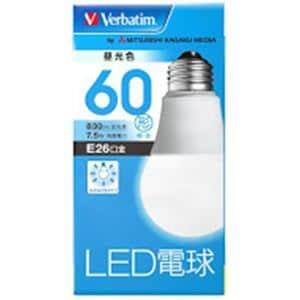 三菱ケミカルメディア LDA8DGV4 LED電球26口金 昼光色 60W相当