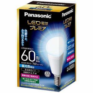パナソニック LDA7DGE17Z60ESW 昼光色相当 E17口金 LED電球プレミア 760lm