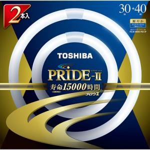 東芝 FCL30-40EDC-PDZ-2P 丸形蛍光灯 「メロウZ PRIDE-II」(30形+40形 2本入・Clear-DayLight色)