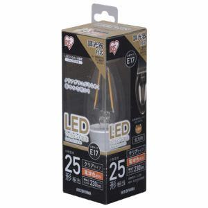 アイリスオーヤマ LDC2L-G-E17/D-FC LED電球 E17口金 電球色 230lm(25W形相当)