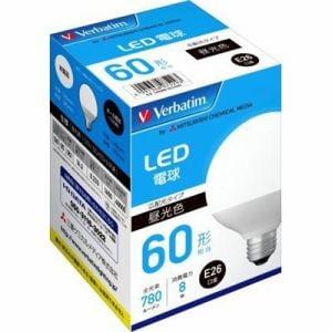 三菱ケミカルメディア LDG8DGLCV2 LED電球   昼光色