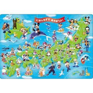 テンヨー ジグソーパズルミッキーと日本地図であそぼうよ!