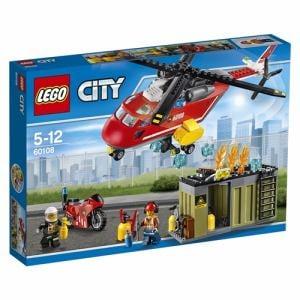 レゴジャパン LEGO 60108 シティ 消防ヘリコプター
