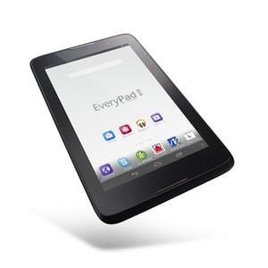 ヤマダ電機 オリジナルタブレット EveryPadⅡ 59414609 ブラック  【フォリオケース&保護フィルムセット】