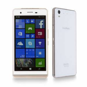 【特典付き】[LTE対応] ヤマダ電機オリジナルモデル Windows 10 Mobile SIMフリースマートフォン EveryPhone ホワイト