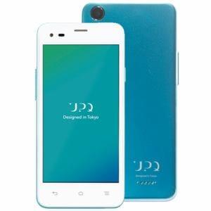UPQ(アップ・キュー) QASP001WBX [LTE対応] SIMフリースマートフォン 「UPQ Phone A01X」 16GB ホワイトバイグリーン&音声通話機能付ヤマダSIMカード(後日発送)セット