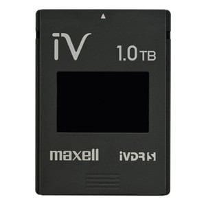 マクセル カセットHDD iV(アイヴィ)カラーシリーズ 1TB ブラック M-VDRS1T.E.BK