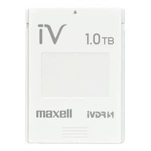 マクセル カセットHDD iV(アイヴィ)カラーシリーズ 1TB ホワイト M-VDRS1T.E.WH