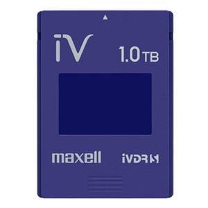 マクセル カラーカセットHDD iV(アイヴィ)ブルー 1TB M-VDRS1T.E.BL