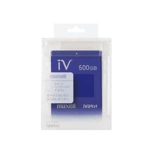 マクセル カラーカセットHDD iV(アイヴィ)ブルー 500GB M-VDRS500G.E.BL