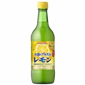 ポッカ お酒にプラス レモン 540ml 1本