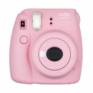 富士フイルム INSTAXMINI8P-STR インスタントカメラ instax mini 8+ 「チェキ」 ストロベリー