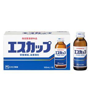 エスエス製薬 エスカップ 100ml×10本 【指定医薬部外品】