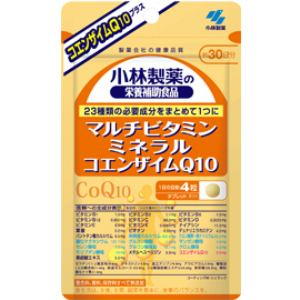 小林製薬 マルチビタミン+ミネラル+CoQ10 120粒 【栄養補助】