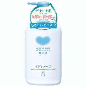 牛乳石鹸 カウブランド 無添加ボディソープ ポンプ 550ml 【日用消耗品】
