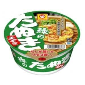 東洋水産 マルちゃん 緑のたぬき天そば(東向け)