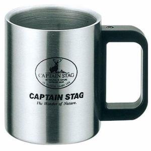 CAPTAIN STAG M-7328 キャプテンスタッグ フリーダム ダブルステンマグカップ300mL