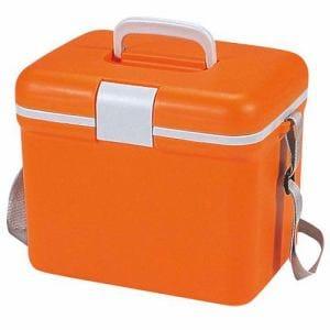 CAPTAIN STAG M-1427 キャプテンスタッグ 抗菌 プラージュ クーラーボックス8.3L(オレンジ)