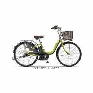 ヤマハ PAS ナチュラL 26型 【2016年モデル】 電動自転車 PA26NL マットティグリーン