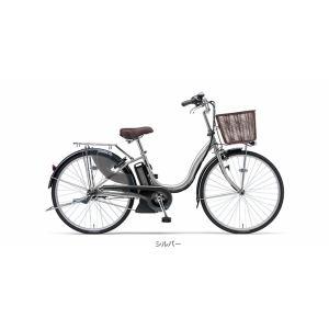 ヤマハ PAS ナチュラM 24型 【2016年モデル】 電動自転車 PA24NM シルバー