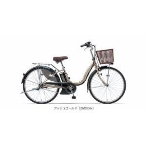 ヤマハ PAS ナチュラM 26型 【2016年モデル】 電動自転車 PA26NM アッシュゴールド