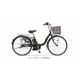 ヤマハ PAS ナチュラM 26型 【2016年モデル】 電動自転車 PA26NM オリーブグリーン