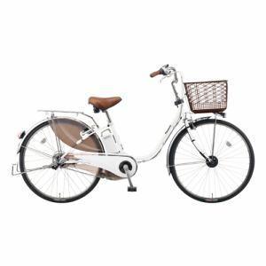 パナソニック BE-ELD432 ビビ・DX 24型 【2016年モデル】 電動自転車 ホワイトパールクリア