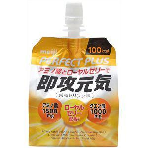 明治(Meiji) パーフェクトプラス 即攻元気ゼリー 180g 【栄養補給ゼリー】