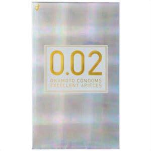オカモト(okamoto) 薄さ均一 002EX ナチュラル 6個入り(コンドーム) 【管理医療機器】