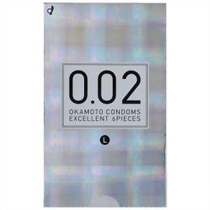 オカモト(okamoto) 薄さ均一 002EX ナチュラル Lサイズ 6個入り(コンドーム) 【管理医療機器】
