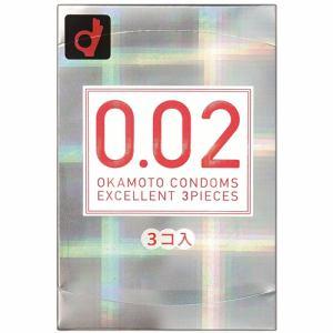 オカモト(okamoto) うすさ均一 0.02EX レギュラーサイズ (3個) 【医療機器】