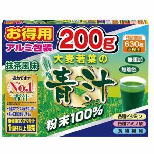 ユーワ 大麦若葉の青汁 100% 200g 【健康補助】
