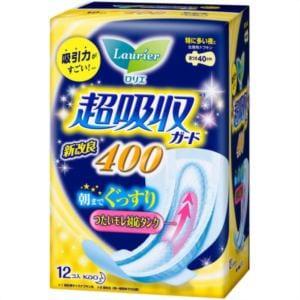 花王 ロリエ スピードプラス 超吸収ガード400 12コ入 【日用消耗品】