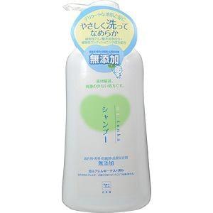 牛乳石鹸 カウブランド 無添加シャンプー ポンプ 550ml 【日用消耗品】