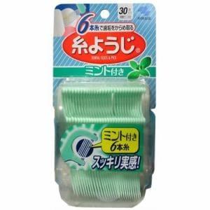 小林製薬 糸ようじ ミント付き 30本入